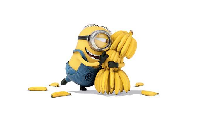 minion con banana