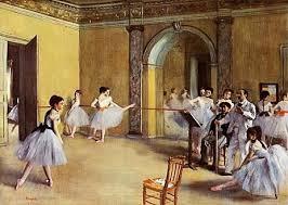 dipinto ballerine degas